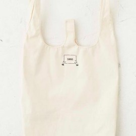 """ CANVAS "" - CANVAS ARMY Convenience Store Bag "" L ""  OATMEAL"