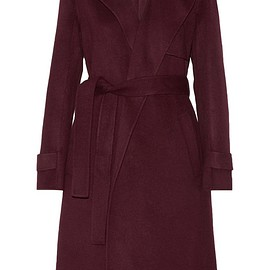 Theory - Oaklane wool and cashmere-blend trench coat