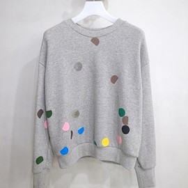 spoken words project - spoken words project SWEAT(DOTS/GRAY)