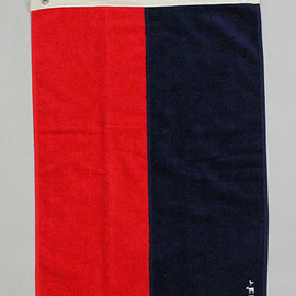 Mountain Research - 1413 Towel (Red x Navy)