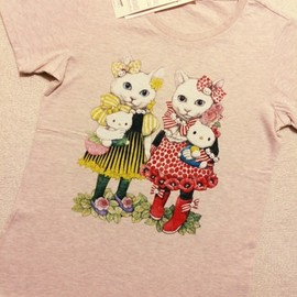 UNIQLO - ヒグチユウコ×Hello Kitty