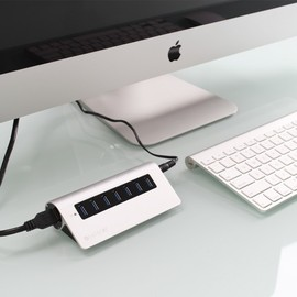 Type-C USB 3.0 3 in 1 Combo Hub - Silver