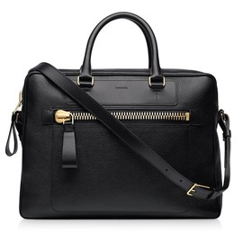 TOM FORD - Buckley Leather Messenger
