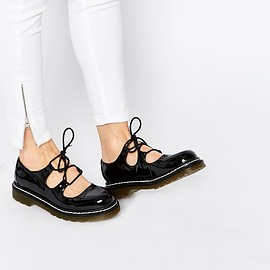 Image 1 of ASOS MAISIE Lace Up Flat Shoes