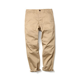 HEAD PORTER PLUS - BASIC CHINO PANTS