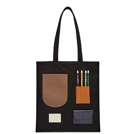 OAD NEW YORK - OAD x CW Pencils Collab Tote - Neutrals III