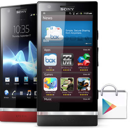 SONY - Xperia P Android smartphone - powered by Android and a 1Ghz processor