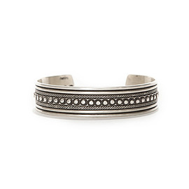 hobo - Droplets Silver Bracelet Narrow by STANLEY PARKER