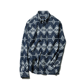 SOPHNET. - NATIVE COTTON DENIM B.D SHIRT