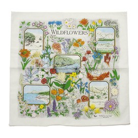 The Printed Image - Nature Facts Bandanas - Wildflower