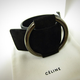 CELINE - Ring buckle bracelet