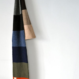 ANDERSON'S - Everest Block Stripe Scarf