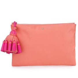 ANYA HINDMARCH - GEORGIANA ZIP TOP CLUTCH