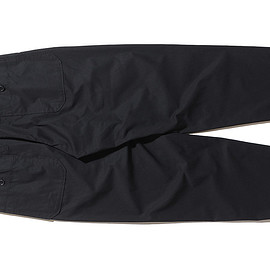 ENGINEERED GARMENTS - Carlyle Pant-High Count Twill-Black
