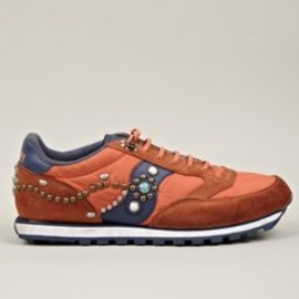 SAUCONY - Men's Orange Texas Jazz Sneaker
