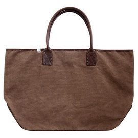 visvim - HOMER TOTE L CANVAS BROWN