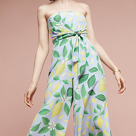 Anthropologie - Slide View: 2: Orchard Strapless Jumpsuit