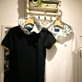 Fred Perry museum neu - museum neu × Fred Perry マッドチェスターポロシャツ