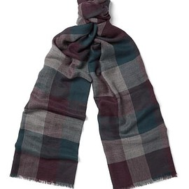 Loro Piana - Stanford Checked Cashmere Scarf