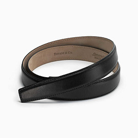 TIFFANY&Co. - Black Leather Belt