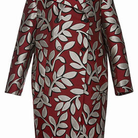 MARNI - Pre-Fall2014 Macro Flower Jacquard Coat