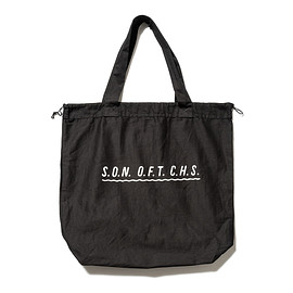 SON OF THE CHEESE - wavy SOTC BAG(BLACK)