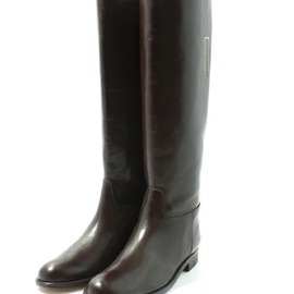 MARGARET HOWELL - LONG LEATHER BOOTS