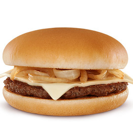 McDonald's - Grilled Onion Cheddar Burger