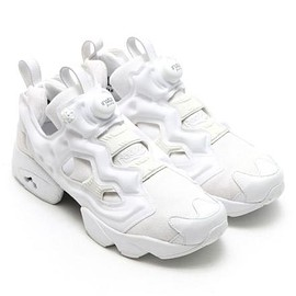 Reebok - ATMOS × REEBOK INSTA PUMP FURY WHITE DENIM