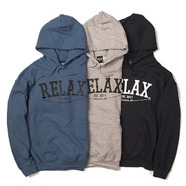 RELAX ORIGINAL® - Basic Logo Pullover Hoodie
