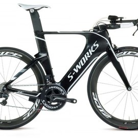 Specialized - 2012 Specialized Shiv S-Works triathlon bike with Shimano Di2 electronic shifting