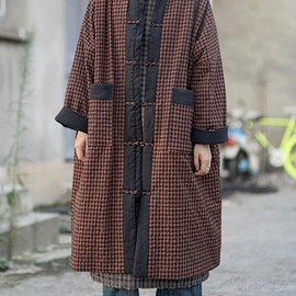 Loose padded coat - Loose padded coat, long Winter overcoat, oversized Maternity winter Clothing