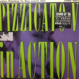 "Pizzicato Five - Action Painting / Boy meets Girl (12"")"