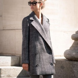 Stella McCartney - TWEED COAT 2013AW