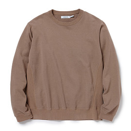 nonnative - COACH CREW PULLOVER COTTON SWEAT OVERDYED