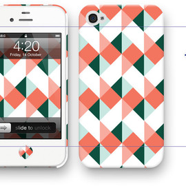LAB.C / design by Anni & Sanna - iphone 4/4S case