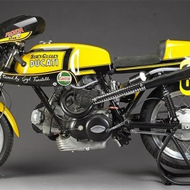 Ducati - 750 Sport 885cc Racing Motorcycle 'Old Yello' 1973 by Syd Tunstall