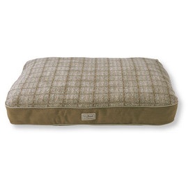 L.L.Bean - Premium Fleece-Top Dog Bed, Rectangular