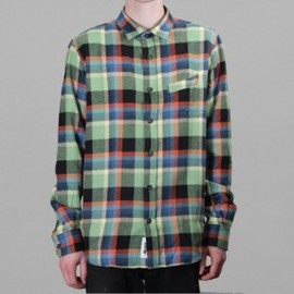 Palace - Over It Shirt Plaid Green