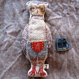 CORAL&TUSK - Owl pocket Doll