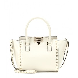 VALENTINO - Rockstud Mini leather shoulder bag