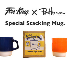 Fire-King×Ron Herman - Special Stacking Mug