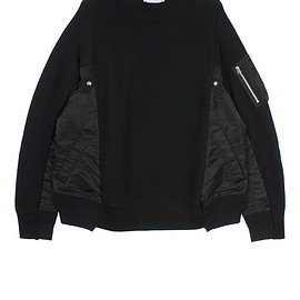 sacai - Crewneck Sweater 2018AW