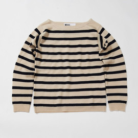 MHL. - WASHABLE WOOL STRIPE SWEATER