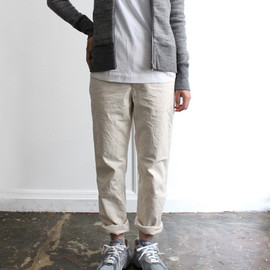 A VONTADE - Classic Chino Trousers / Natural