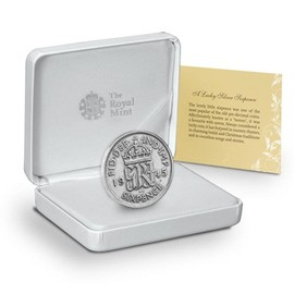 The Royal Mint Lucky Silver Sixpence