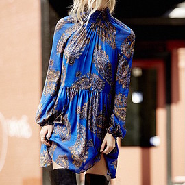 Free People - Free People Forget Me Not Moonstruck Mini Dress