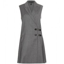 MARC BY MARC JACOBS - Tuxedo Pinafore wool dress