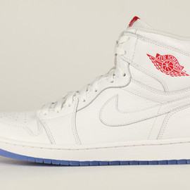 NIKE - Ted Portland x Air Jordan 1 Retro High White Profile