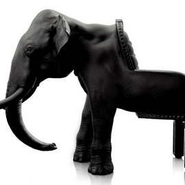 The Animal Chair collection - Кресло-слон от Maximo Riera